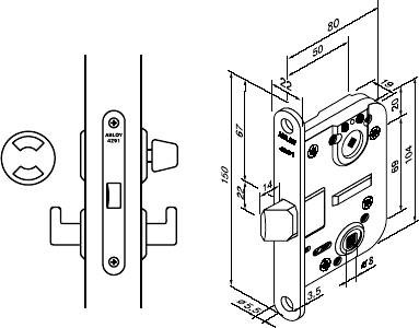 Abloy 4291